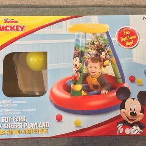 Disney Inflatable Playland w/ Balls MIB